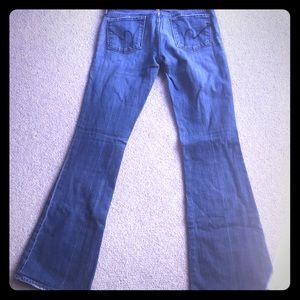 Citizens of humanity low waist flare size 27 jeans
